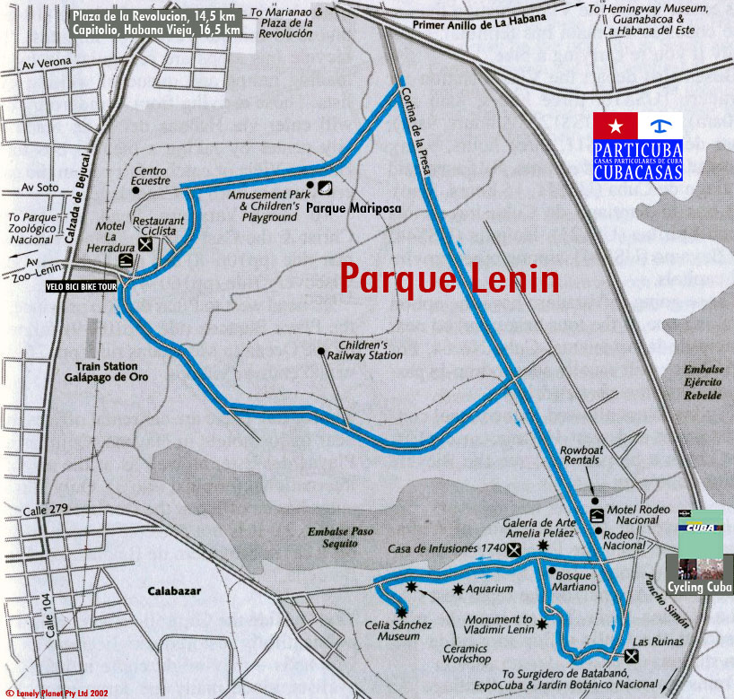 Parque Lenin © Lonely Planet Cycling Cuba