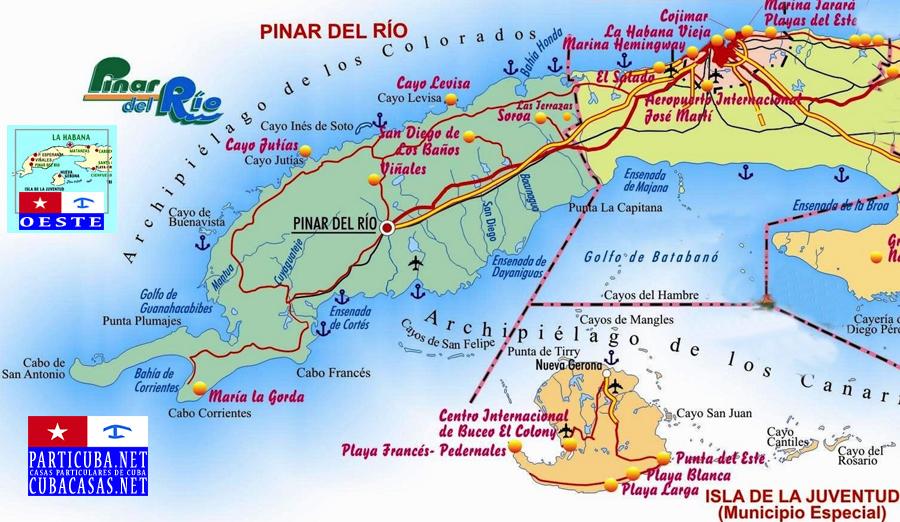 Cubacasas Net Itineraries Circuits Routes