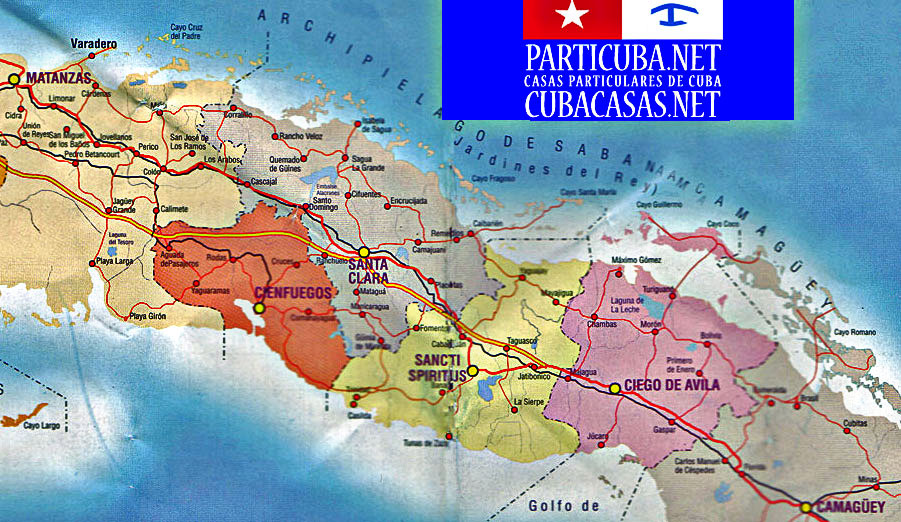 MAP OF CENTRO WITH OUR 2 ITINS