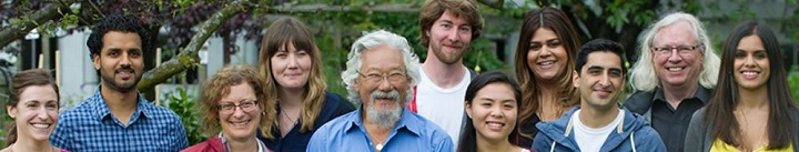 Fondation David Suzuki in Canada, eh ?