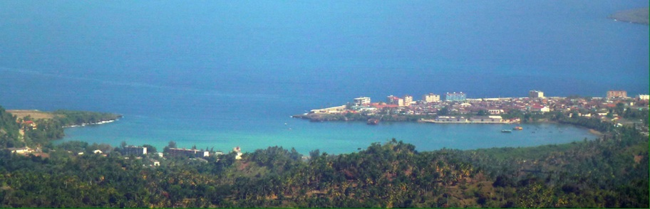 The town and its bay as seen from El Yunque © sogestour