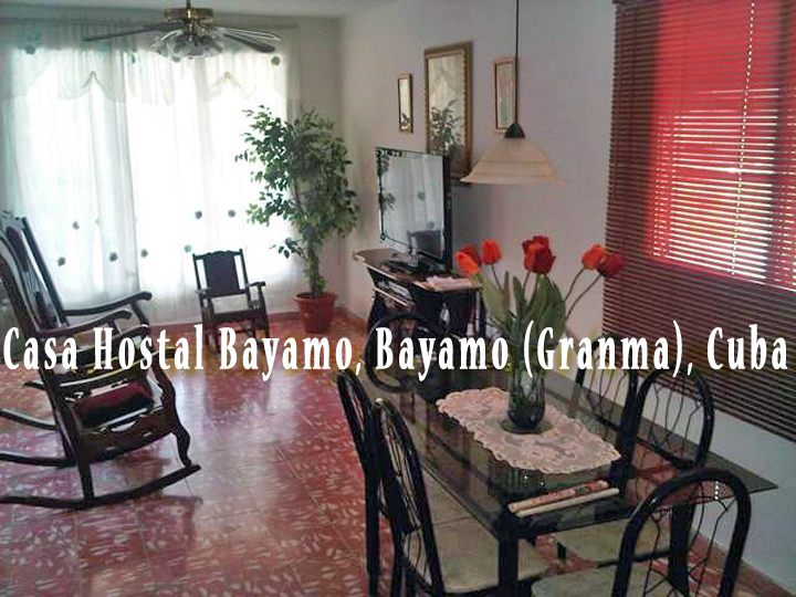 HOSTAL BAYAMO • cubacasas.net • Bayamo