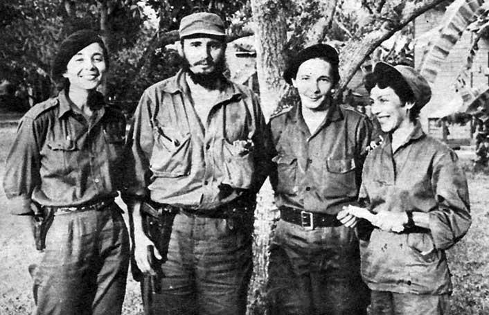 Vilma, Fidel, Raul, Celia