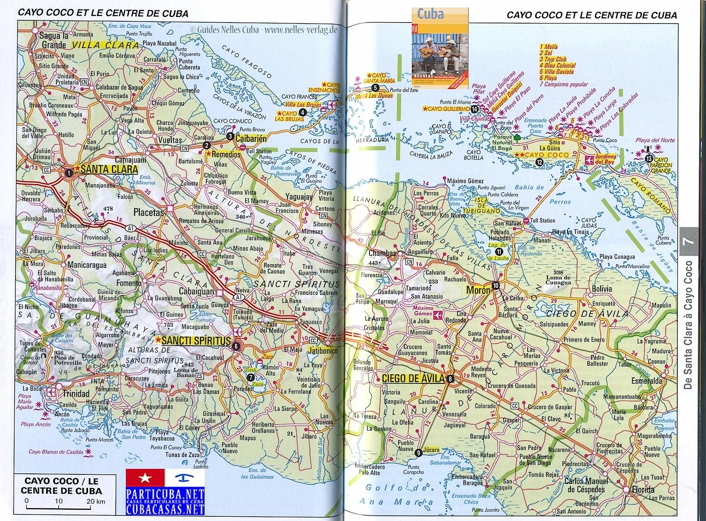 Wwwcubacasasnet Ciego De Avila - Cuba provinces map