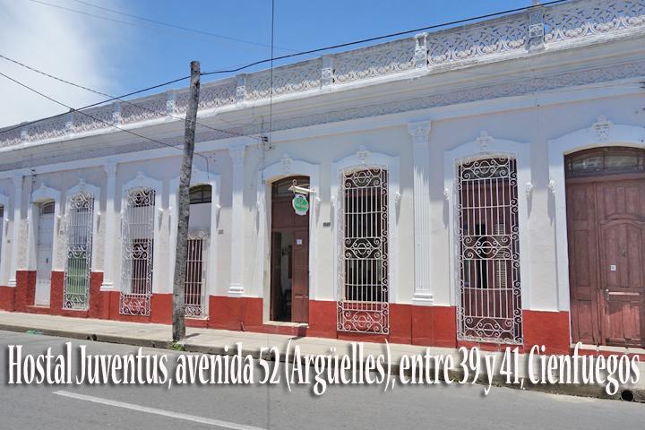 HOSTAL JUVENTUS | www.particuba.net | Cienfuegos