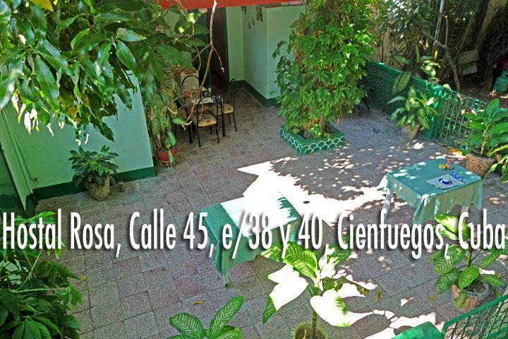www.particuba.net •|•Cienfuegos ::: Hostal Rosa