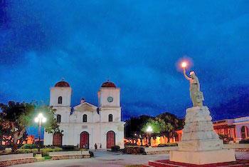 Iglesia San Fulgencio on Parque Calixto Garcia © Robin Thom Photography