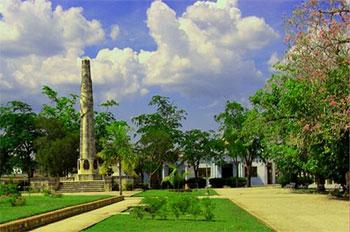 Autre vue du parc de la contitution © Eyanex, panoramio