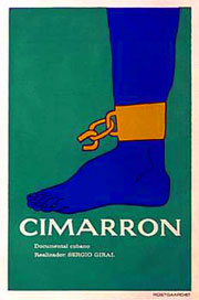 Afiche Cimarron