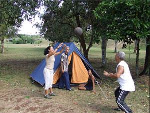Location de tentes en été