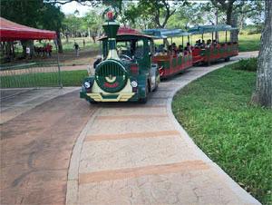 Tren por niños • Kids' train • Train pur enfants dans Mariposa