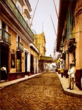 Calle Habana in the old days
