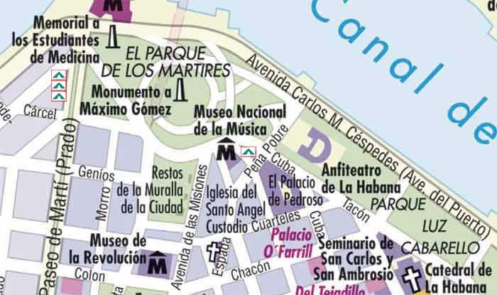 Habvie canal de entrada zon 1 for Calle neptuno e prado y zulueta habana vieja habana cuba