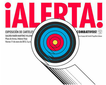 ¡Alerta!, an exhibition of posters