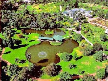 Jardin Botanico Nacional, another large open space