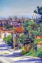 Mi Calle (Ma rue) • Ruben Beltran, peintre