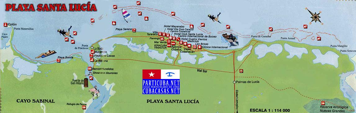 Playa Santa Lucia Www Cubacasas Net Nuevitas Camaguey