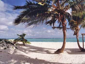 Playa Los Pinos on Cayo Sabinal