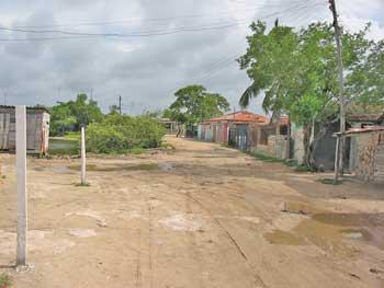 Le camino principal de Las Bocas