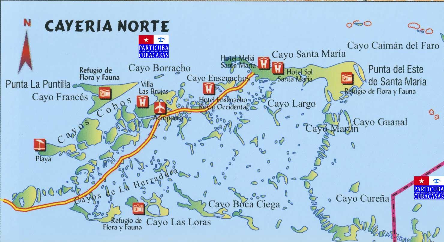 Particuba net •|• Cubacasas net ::: Cayos Cobos & Santa Maria