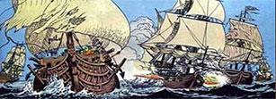 Les corsaires ont profité des méandres du rio Sagua