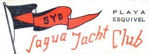 Logo du Sagua Yacht Club © Tintin Collection