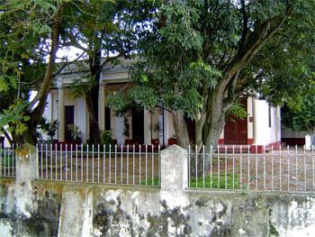 Sancti Spiritus Narrow street