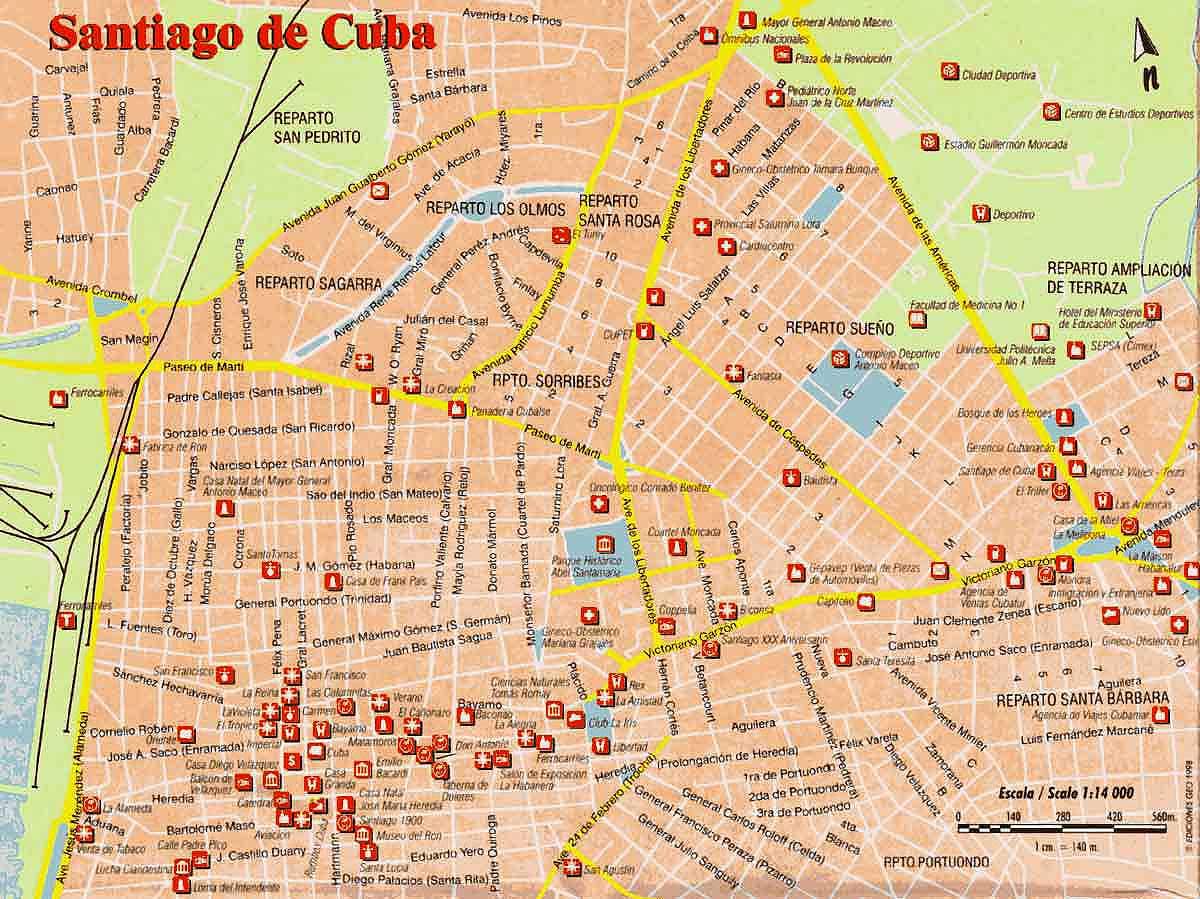 Mapa cuarta region chile for Mapa de santiago de chile
