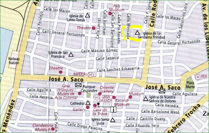 HOSTAL LA CEIBA • www.particuba.net • • Santiago de Cuba