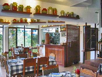 The El Romero restaurant in Las Terrazas