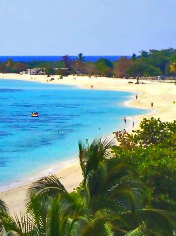 Une des belles plages de Cuba, Playa Ancon