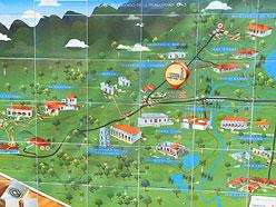 Mapa Valle