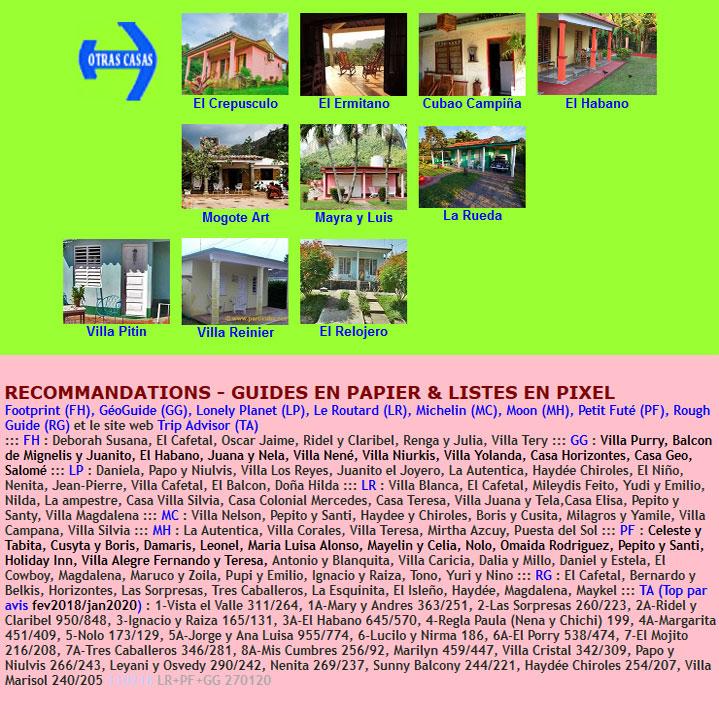 Otras Casas + Recommandées par Guides