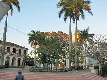 Le palmier et la croix© sogestour •|• Même parc au centre, otra vista © sogestour